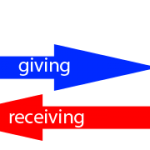 giving receiving