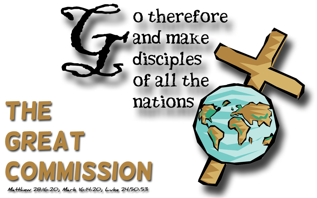 exegesis on the great commission Click on the pin or flag of your country john 3:16-17 for god so loved the world, that he gave his only son, that whoever believes in him should not perish but have eternal life for god did not send his son into the world to condemn the world, but in order that the world might be saved.