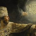 King Belshazzar..