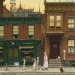 Norman Rockwell...going to church