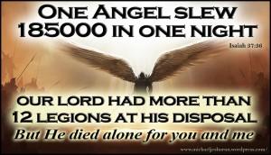 twelve legions of angels
